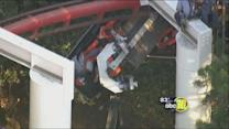 4 hurt in Magic Mountain roller coaster accident
