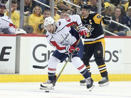 NHL  Stanley Cup Playoffs-Washington Capitals at Pittsburgh Penguins 715321b0b96c