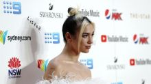 Rebellious streak: stars embrace two-tone hair in nostalgic throwback