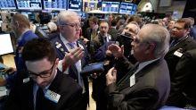 US STOCKS SNAPSHOT-Wall St dips at open on weak Chinese data; tariff deadline looms