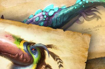 Draenor bestiary updated with the creatures of Nagrand