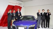 車壇直擊—Audi忠孝展間開幕暨R8 V10 Plus Coupe&S1 Sportback發表會