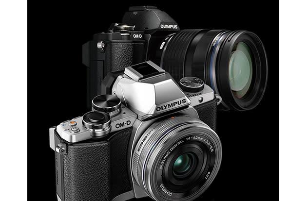 Olympus' tiny OM-D E-M10 mirrorless camera arrives next month for $700