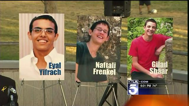 Vigil Held in West L.A. for Missing Teens Whose Bodies Were Found in the West Bank
