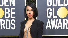Kerry Washington Goes For a 'Scandal'-ous Skin-Baring Look at Golden Globes 2020