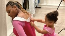 Serena Williams' Dress-Up Pic With Her Daughter Has the Cutest Caption