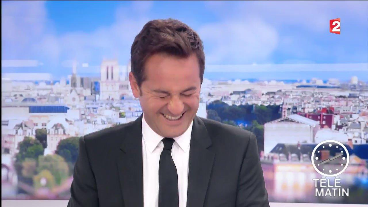 Le fou rire de nathana l de rincquesen t l matin video - Que devient william leymergie ...