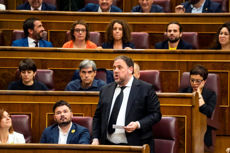 European Union top court rules Catalan separatist had immunity when jailed