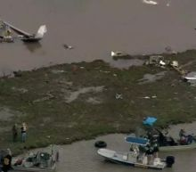 Cargo jet with three on board crashes near Houston airport