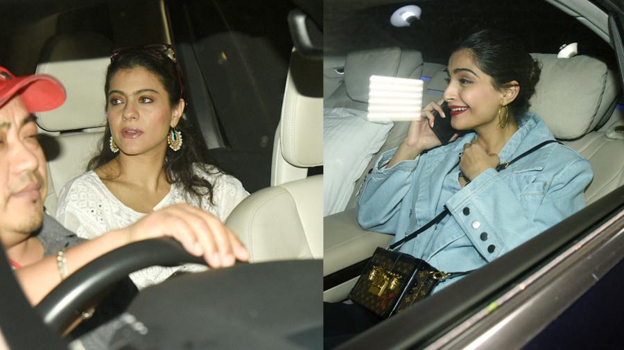 Kajol, Sonam Kapoor at Rani Mukerji's Daughter Adira's Birthday