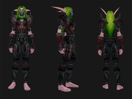 Outland reputation set- Rogue: Opportunist's Battlegear