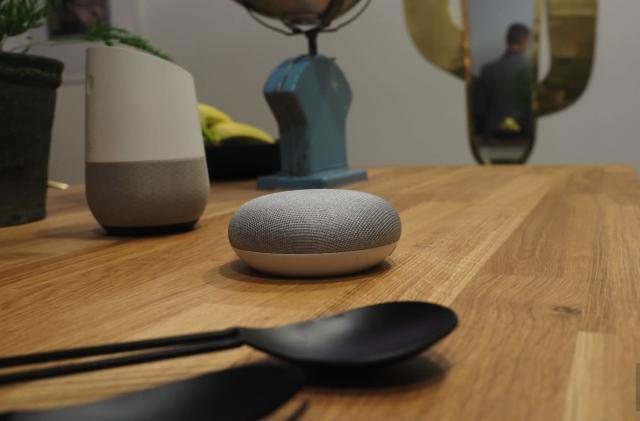 Google Home Mini hands-on: Smaller, cheaper, subtler