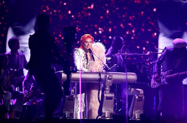 Lady Gaga's robotic keyboard had some help from NASA