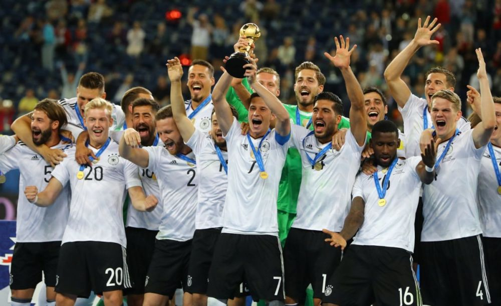 The Confederations Cup is a warm-up for the World Cup, and Germany might well win that, too. (Reuters)