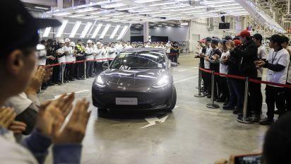 特斯拉突起 中國電動車泡沫瀕破