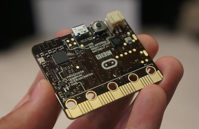 Meet the Micro:bit, the BBC's tiny programmable computer for kids