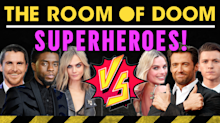 How well do you know your superheroes? Play along with 'The Room of Doom' and find out