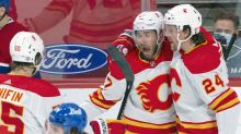 Giordano, Markstrom lead Flames to 4-1 win over Canadiens
