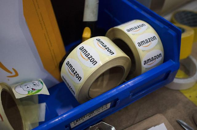 Amazon UK will take £10 off orders over £50 today