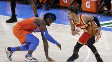 Thunder change uniforms at halftime after mix-up with Hawks