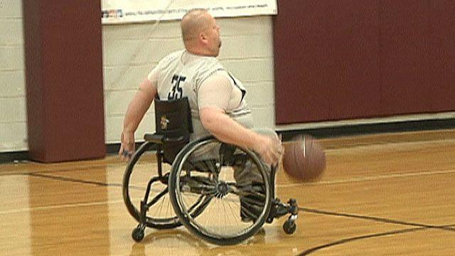 Wheelchair basketball team faces an unexpected challenge