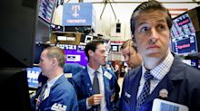 US STOCKS-Wall St dragged down by Trump trade tweet