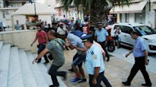 Greece: Suspects in tourist's fatal beating held for trial