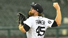 Tigers' Buck Farmer heads to injured list with strained groin; Beau Burrows called up