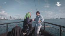 Loret y Brozo se juntan en un barco pirata, en Miami