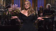 La chanteuse Adele a toujours plus d'humour mais pas encore de nouvel album