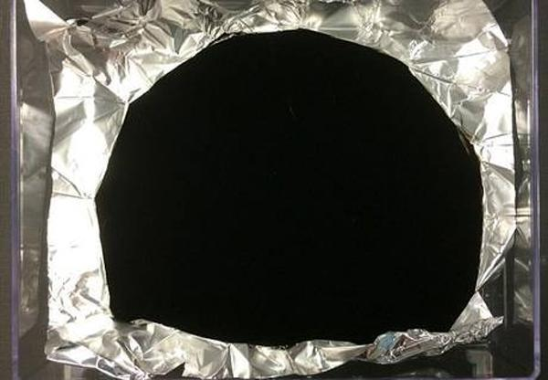 This new carbon nanotube material is the darkest thing on the planet