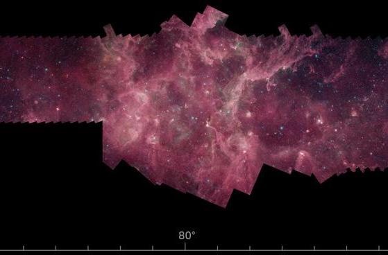 NASA captures over half the galaxy's stars in new infrared panorama