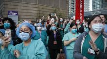 Nurses on NY's front lines call for minimum staffing ratios