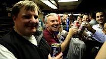 Last Call for Metro North Railroad's Bar Car