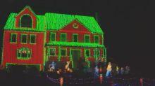 Weihnachtswahnsinn: 130.000 Lichter schmücken Haus