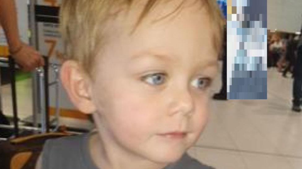 Urgent search for two-year-old boy missing for more than a week