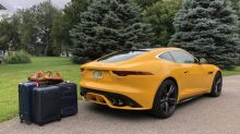2021 Jaguar F-Type Luggage Test | Get away, and look extremely good doing it