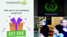 Woolworths issues warning about scam offering $90 reward
