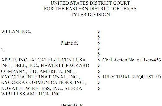 WiLAN lawyers up, picks patent fight with Apple, Dell, HP, HTC and others
