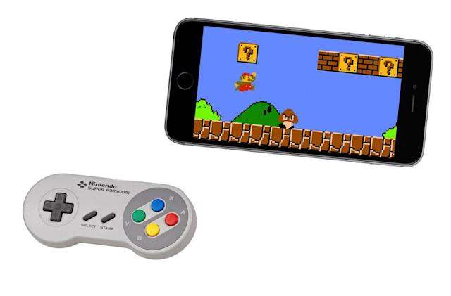 Nintendo hints at smartphone controller plans