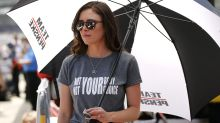 Fiancées of Indy 500 drivers wear pro-choice t-shirts to qualifier
