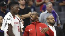 Report: Rockets fear Chris Paul might miss a month with left knee bruise