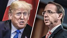 Trump may put off meeting Rosenstein, would 'prefer' him to stay