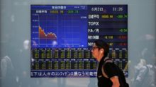 Asian shares flat as drop in S&P 500 futures weighs