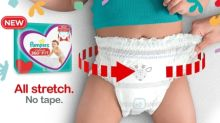 Go! Go! Go! Pampers Revolutionary New Diaper for the Most Active Babies is Everything Parents Didn't Know They Needed