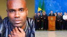 No 'Encontro', ator critica ausência de negros no governo Bolsonaro