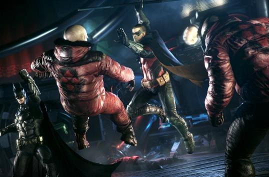 See the 'Batman: Arkham Knight' Dual Play mode in action
