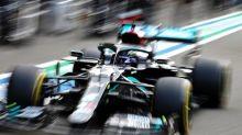 F1 - GP d'Italie - ES2 : Lewis Hamilton (Mercedes) devant Valtteri Bottas au GP d'Italie