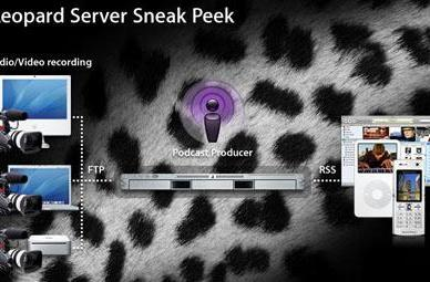 3GPP Phone spotted in Leopard Server Sneak Peek