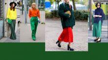 綠色時裝夠百搭 紅橙黃綠青藍紫任你搭